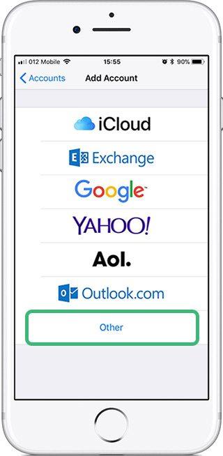 כיצד להגדיר את חשבון הInbox שלך בIphone